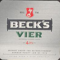 Pivní tácek beck-24