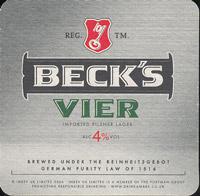 Pivní tácek beck-25