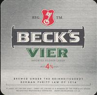 Pivní tácek beck-26
