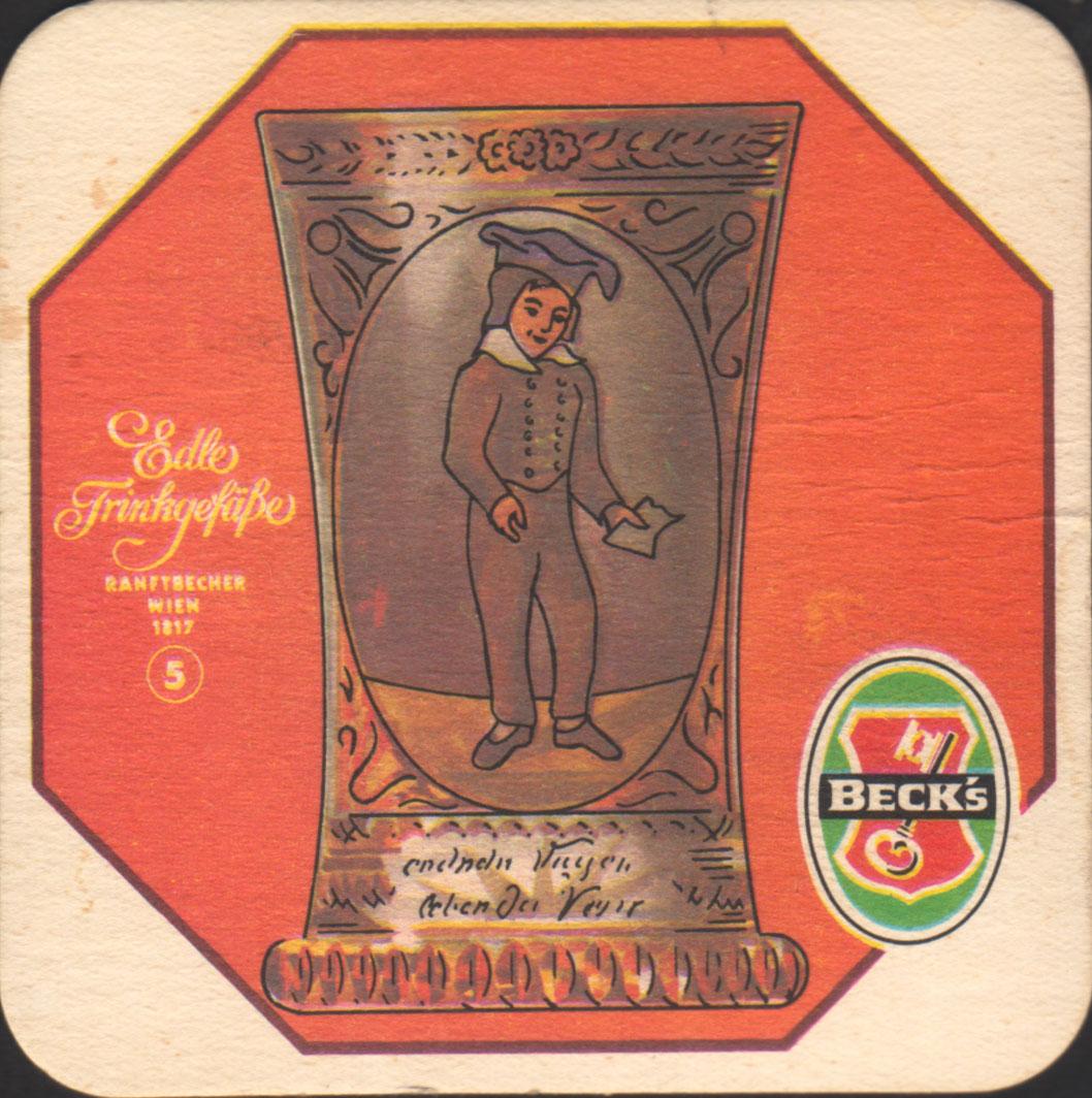 Pivní tácek beck-27