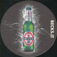 Pivní tácek beck-29-zadek