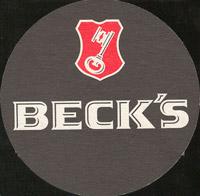 Pivní tácek beck-29