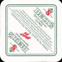 Pivní tácek beck-31-zadek-small