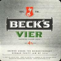 Pivní tácek beck-33-small