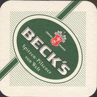 Pivní tácek beck-4-oboje
