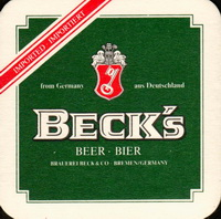 Pivní tácek beck-50-small