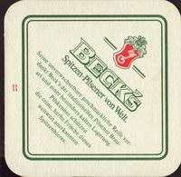 Pivní tácek beck-6-zadek-small