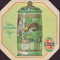 Pivní tácek beck-60-small