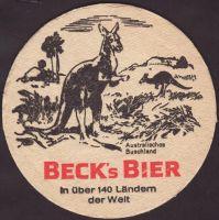 Pivní tácek beck-64-zadek-small