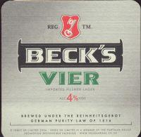 Pivní tácek beck-67-small
