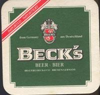 Pivní tácek beck-7-oboje