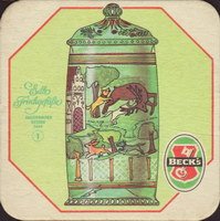 Pivní tácek beck-75-small