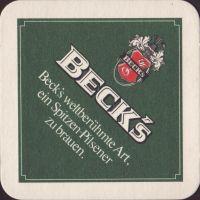 Pivní tácek beck-77-small