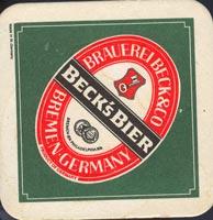 Pivní tácek beck-8