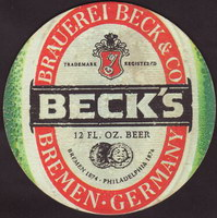 Pivní tácek beck-84-zadek-small