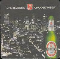 Pivní tácek beck-9-zadek