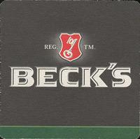 Pivní tácek beck-9