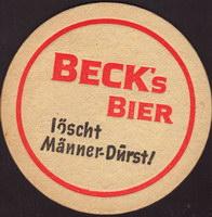 Pivní tácek beck-90-small