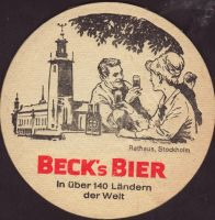 Beer coaster beck-96-zadek