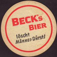 Pivní tácek beck-98-small