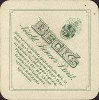 Pivní tácek beck-99-zadek-small