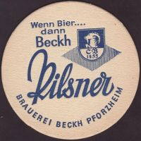 Beer coaster beckh-2-small