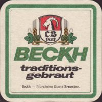 Beer coaster beckh-4-small