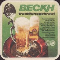 Beer coaster beckh-4-zadek-small