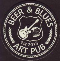Pivní tácek beer-and-blues-art-pub-1-small