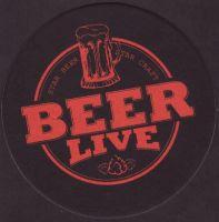 Pivní tácek beer-live-1-small