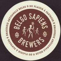 Beer coaster belgo-sapiens-1-small