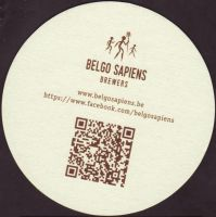 Beer coaster belgo-sapiens-1-zadek-small