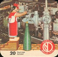 Beer coaster belle-vue-66