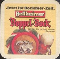 Pivní tácek bellheimer-1-zadek
