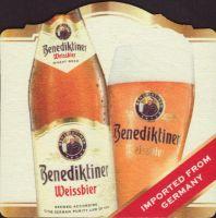 Beer coaster benediktiner-weissbrau-2-zadek