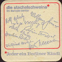 Beer coaster berliner-kindl-25-zadek-small