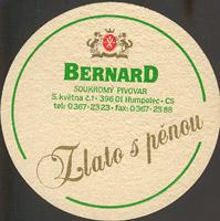 Pivní tácek bernard-16-zadek