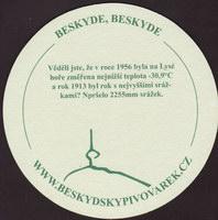 Beer coaster beskydsky-pivovarek-10-zadek-small