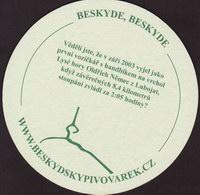 Beer coaster beskydsky-pivovarek-15-zadek-small