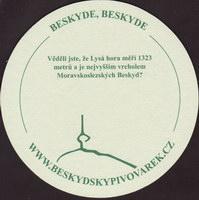 Beer coaster beskydsky-pivovarek-16-zadek-small