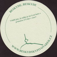 Beer coaster beskydsky-pivovarek-17-zadek-small