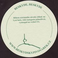 Pivní tácek beskydsky-pivovarek-18-zadek-small