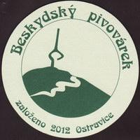 Beer coaster beskydsky-pivovarek-19-small