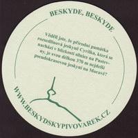 Beer coaster beskydsky-pivovarek-19-zadek-small