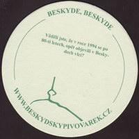 Beer coaster beskydsky-pivovarek-2-zadek-small