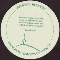 Beer coaster beskydsky-pivovarek-20-zadek-small