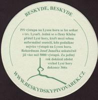 Beer coaster beskydsky-pivovarek-21-zadek-small