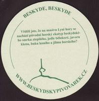 Beer coaster beskydsky-pivovarek-22-zadek-small