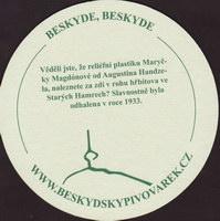 Beer coaster beskydsky-pivovarek-23-zadek-small