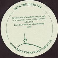 Beer coaster beskydsky-pivovarek-24-zadek-small